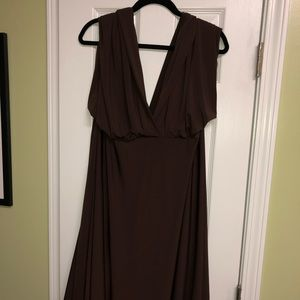Chocolate Brown Multi-style Bridesmaid Dress